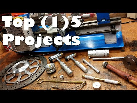 Top 15 Best Projects Mini Metal Lathe A Year In Review Part 2