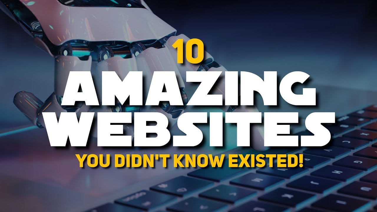 Download 10 Amazing Websites You Didn't Know Existed!