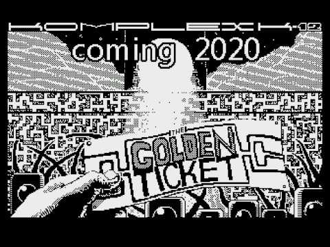K12: The Golden Ticket - teaser (ATARI XL/XE DEMO)