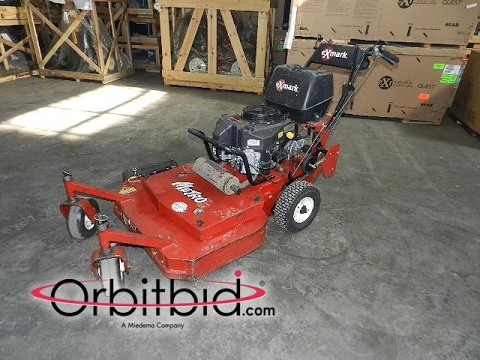 Exmark Metro commercial walk-behind zero turn mower | For Sale | Online Auction
