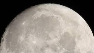 Nikon P900 - Zooming a Super Moon (Wolf Moon 2018)