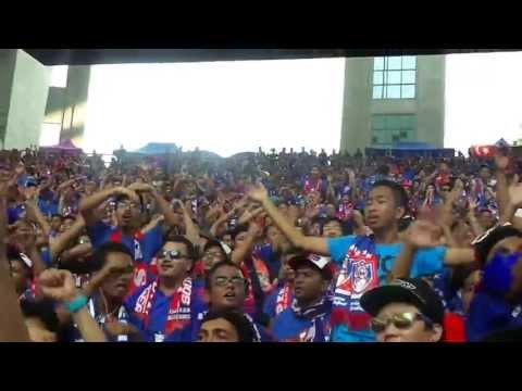 Final FA Cup 2013 - Johor Darul Takzim (Curva B.O.S) Part 2
