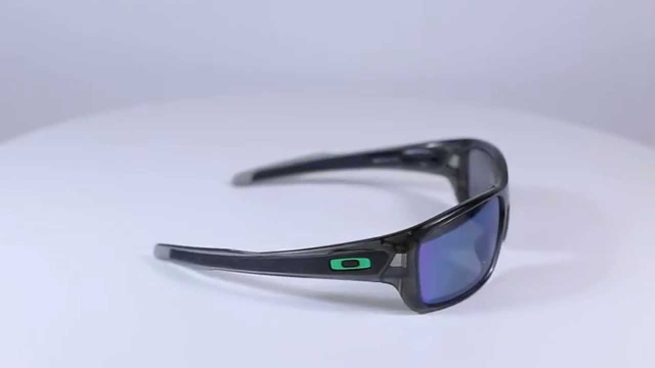 ce0252d3ca Oakley Turbine Grey Smoke-Jade Iridium Polarized OO9263-09- gimpexsport.eu