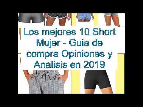 Los mejores 10 Short Mujer - Guía de compra 4111cdddbb6