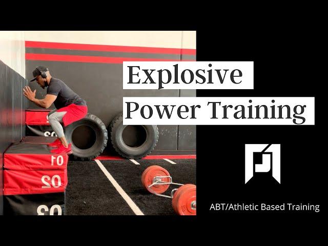 ABT- Athletic Based Training: Explosive Power Training at Phase 1 Sports