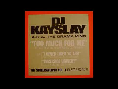 DJ Kay Slay - Too Much For Me - Instrumental