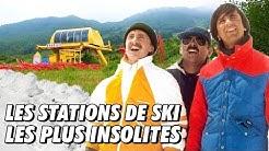 CES STATIONS DE SKI SONT COMPLÈTEMENT INSOLITES !