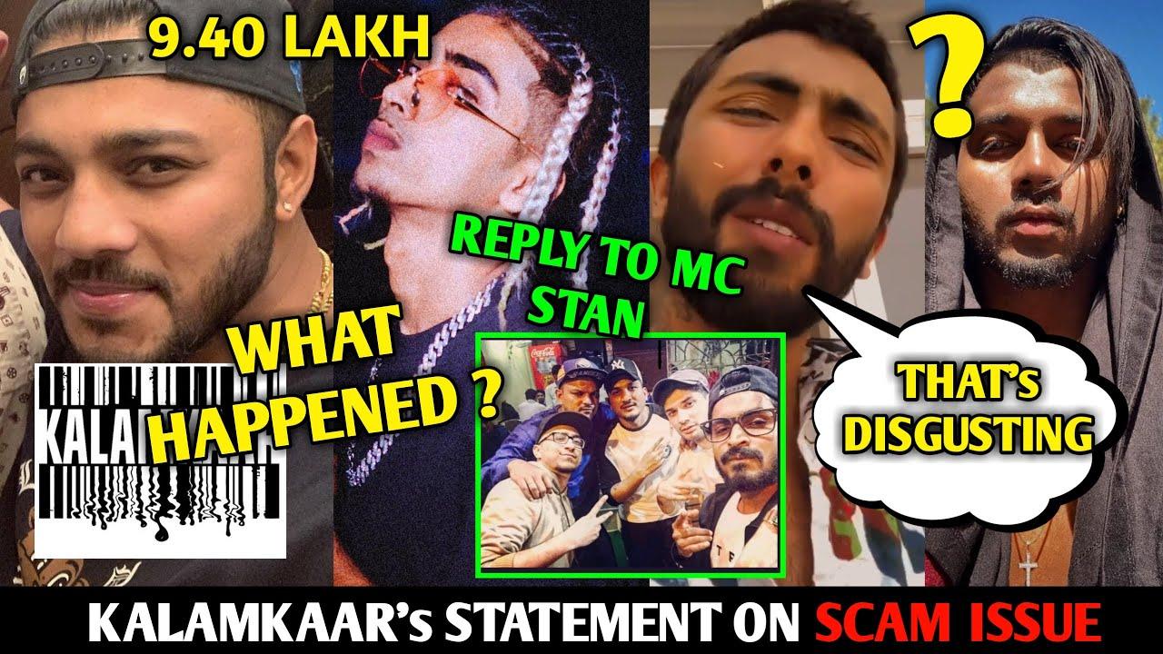 Raftaar and Kalamkaar 9 Lakh, ISSUE CLEARED ! Statements | Reply to Mc Stan | King x Badshah