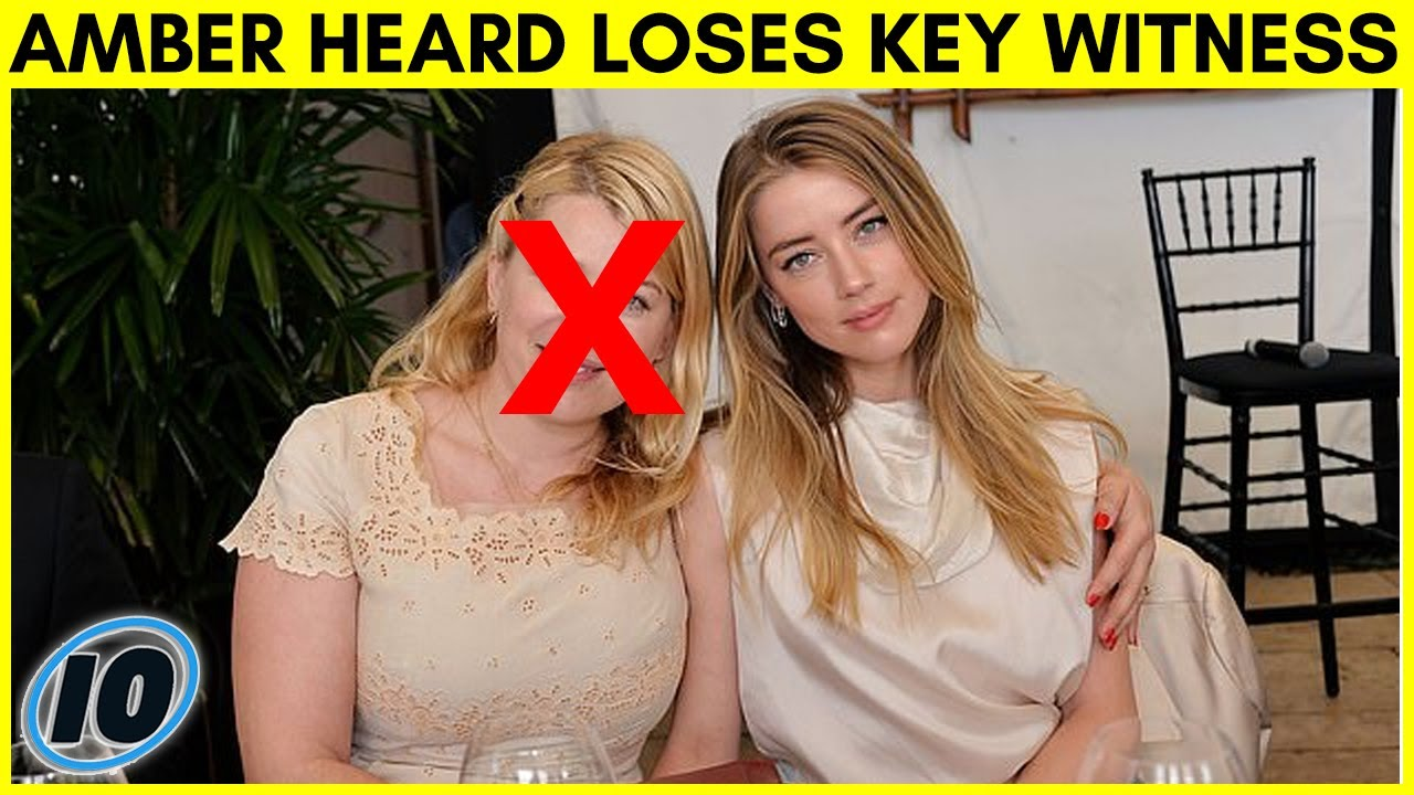 Amber Heard Loses Key Witness That Once Came To Her Defense