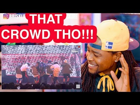 BLACK GUY REACTION TO BTS 'MIC Drop' stage @COMEBACK SHOW 'BTS DNA' - BTS (방탄소년단)