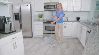 Quickie Clean Water Spin Mop System Instructional Video