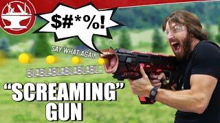 A Nerf Gun That Screams When You Shoot