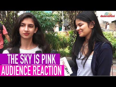 The Sky Is Pink Audience Reaction |  Priyanka C J, Farhan A, Zaira W, Rohit S