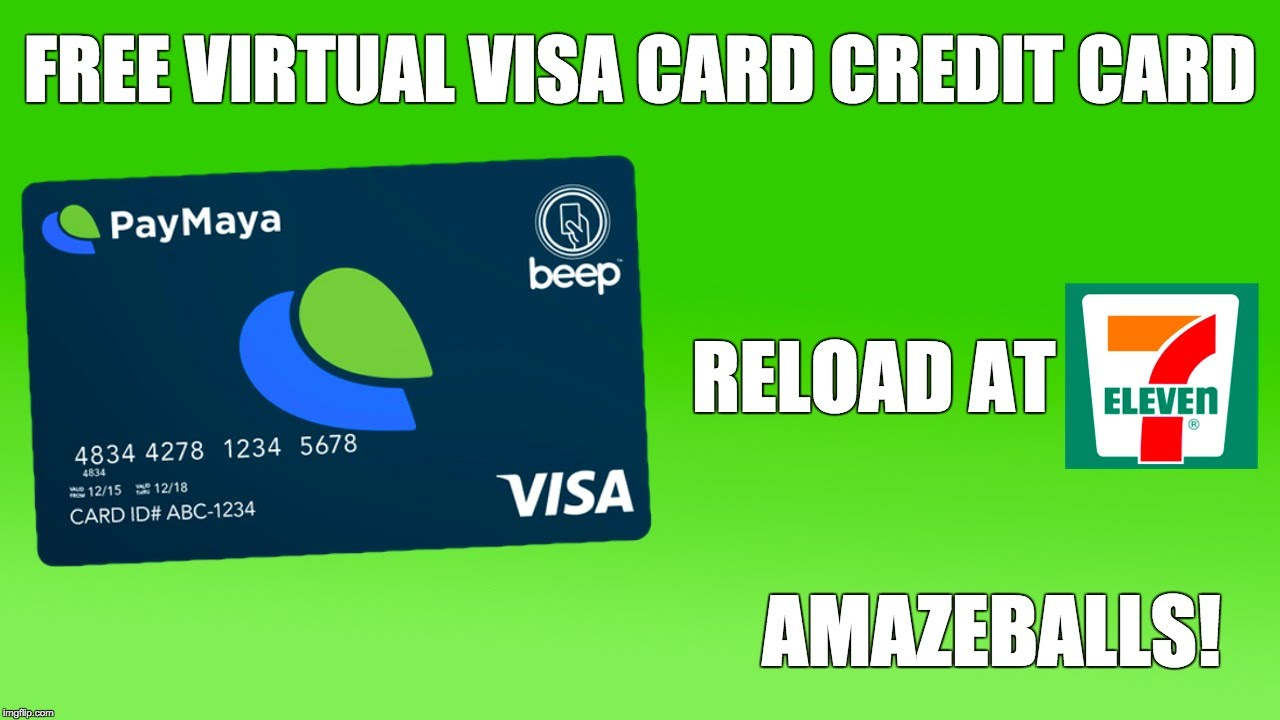 Virtual credit card paymaya philippines youtube reheart Image collections