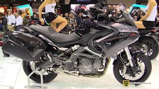 2015 Benelli BN 600 GT - Walkaround - 2014 EICMA Milan Motorcycle Exhibition