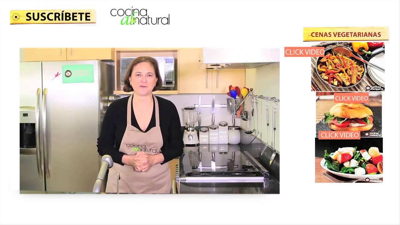 Opciones de cenas vegetarianas youtube for Opciones de cenas ligeras