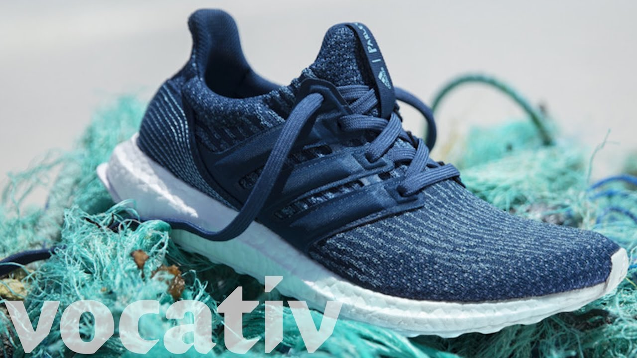 Adidas Unlaces New Shoe Made from Ocean Trash