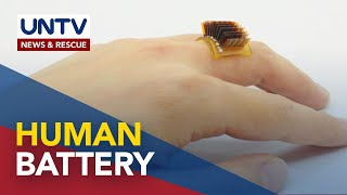 New wearable technology turns humans into batteries