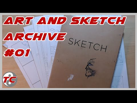 Art and Sketch Archive (Old Sketches) #01