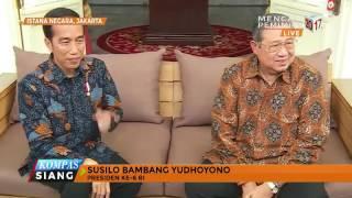 Jokowi Dan SBY Bertemu, Ini Yang Dibahas Keduanya