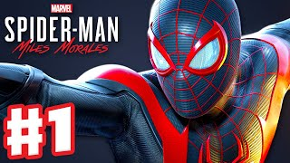 Spider-Man: Miles Morales - PS5 Gameplay Walkthrough Part 1 - Intro and Rhino Boss Fight! (PS5 4K)
