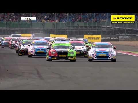 MG6 Jason Plato Highlights | BTCC Silverstone 2014