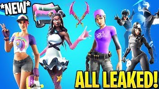 *NEW* All Leaked Fortnite Skins & Emotes.! (Shadow Bundle, Bouncer Emote)