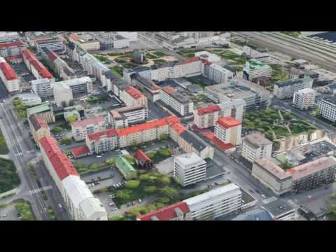 3D City Model from Airborne LiDAR Data