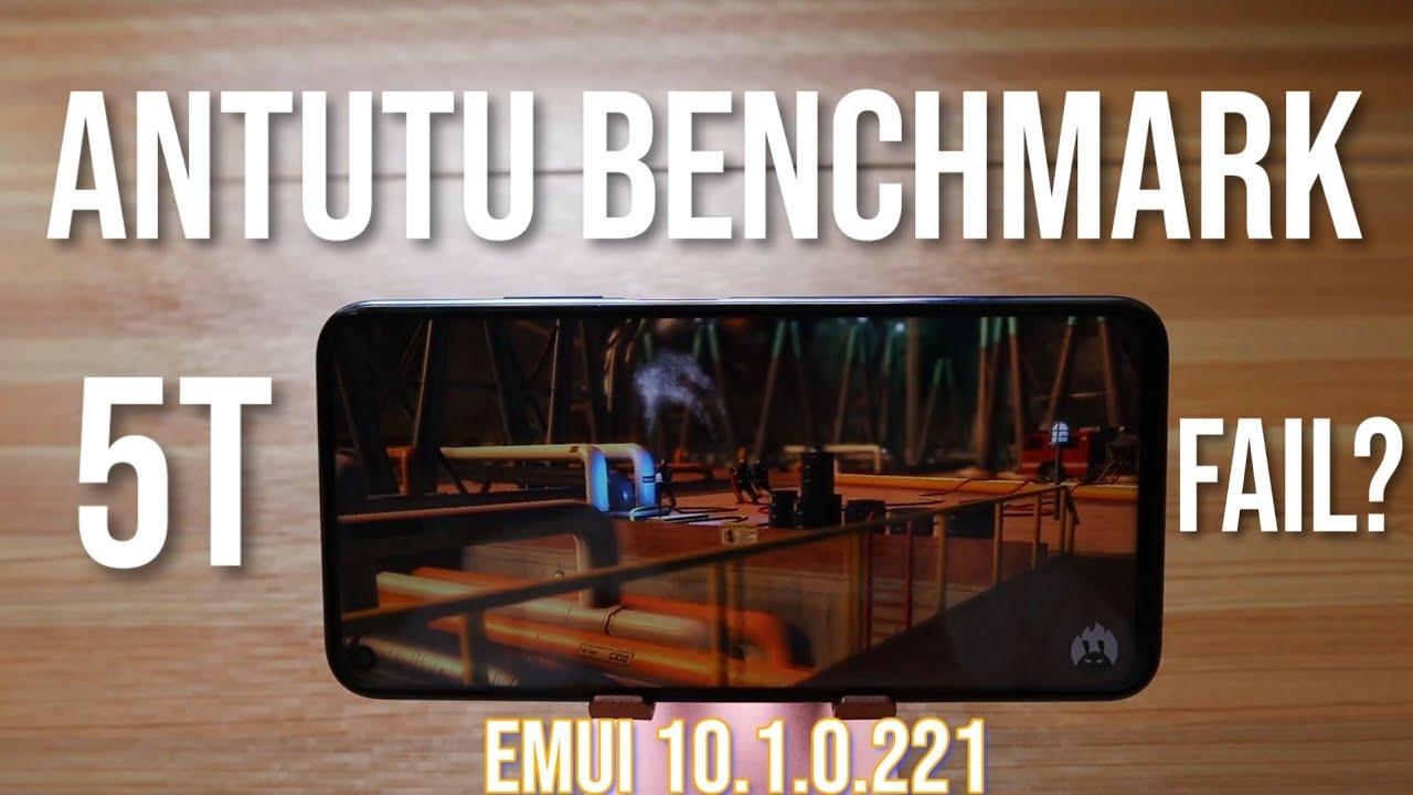 Huawei Nova 5T Antutu Benchmark | EMUI 10.1.0.221