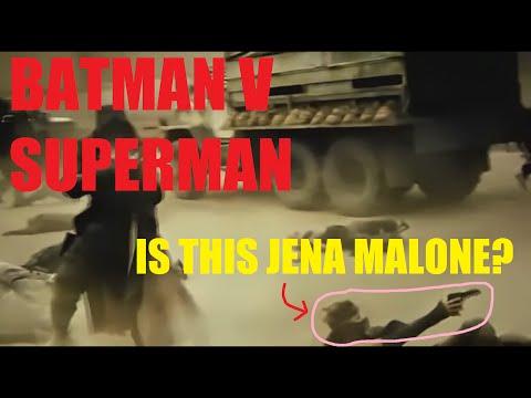 JENA MALONE AS BATGIRL FOUND IN 'BATMAN V SUPERMAN'?!