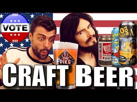 Irish People Vote Tastiest American Craft Beer Ever!! - ( Ohio, Minnesota, Washington )
