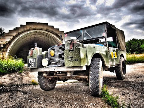 The Baltic Express Part 4. Land Rover Series One Road Trip.