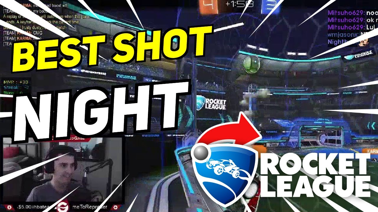 Daily Rocket League Highlights: BEST SHOT OF THE NIGHT