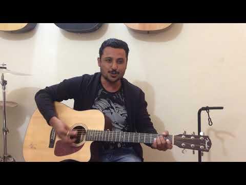 Jaadu Teri Nazar Acoustic Guitar Cover By Arvind | Darr | Udit Narayan |
