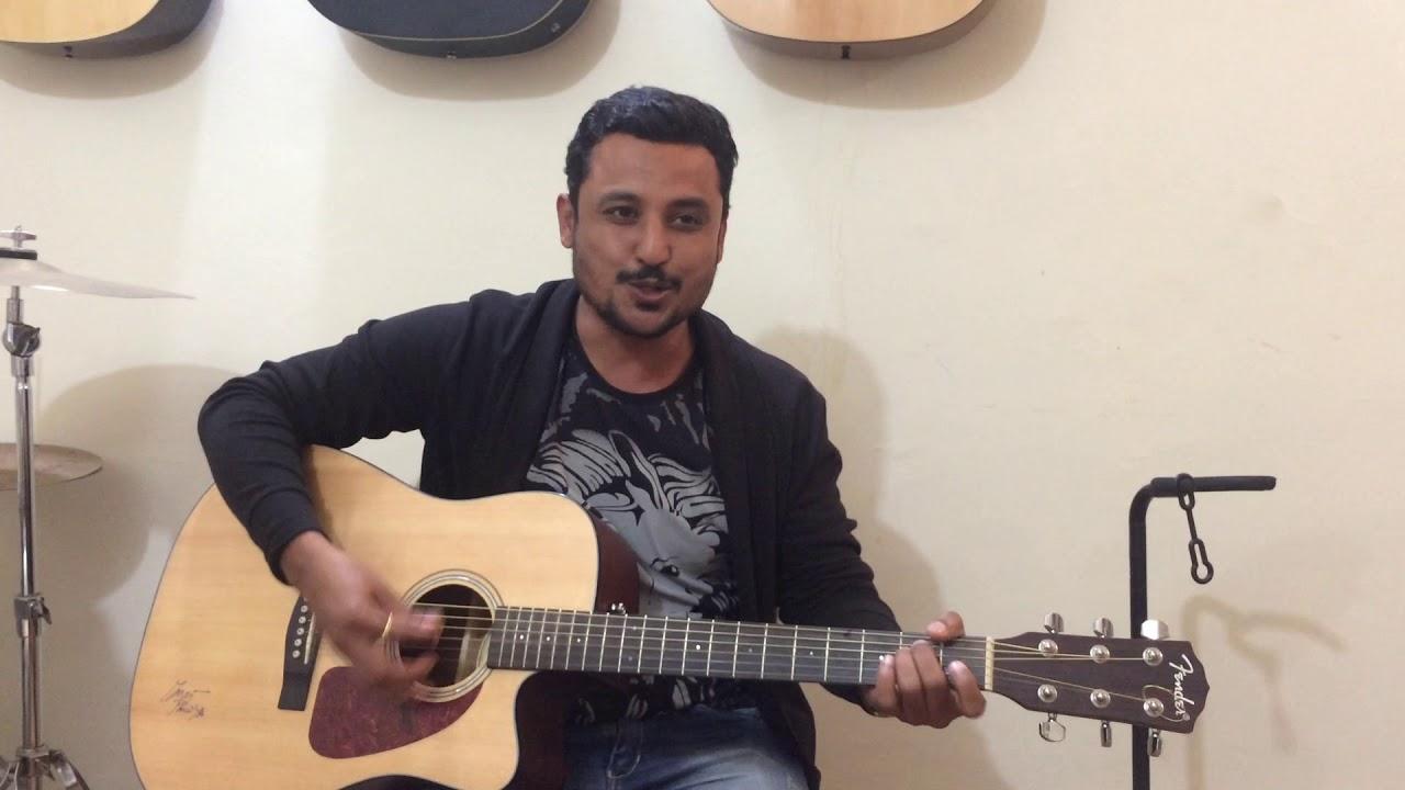 Jaadu Teri Nazar Acoustic Guitar Cover By Arvind | Darr