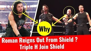 Why Triple H Join The Shield? Roman Reigns Out From Shield Shield Recruit Triple H LiveEvent Glasgow