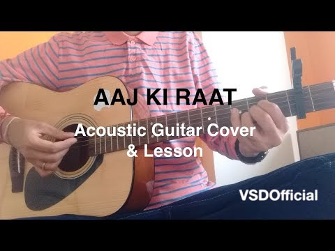 Aaj Ki Raat | Don | Acoustic Guitar Cover...