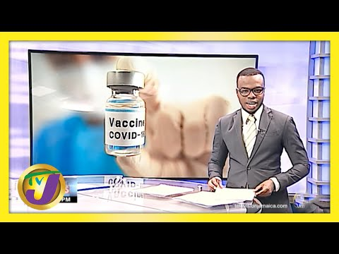 Mass Vaccination Blitz at the National Arena in Jamaica   TVJ News