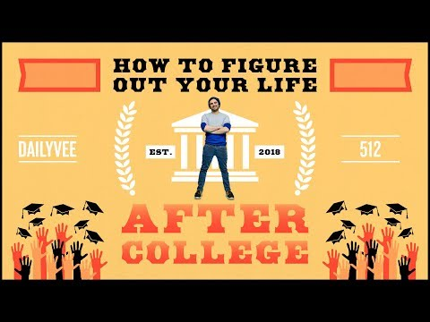 How to Figure Out Your Life After Graduating College | DailyVee 512