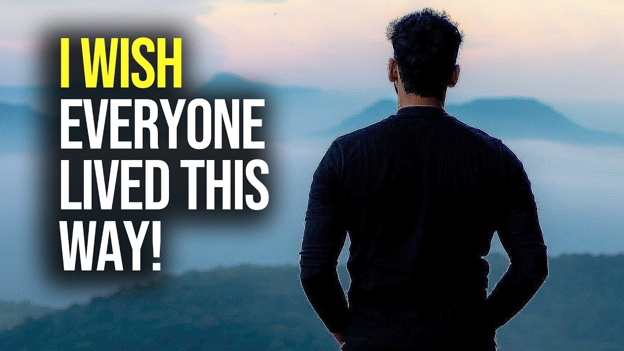The World Would Be A Better Place if We All Lived This Way! (Motivational Video)