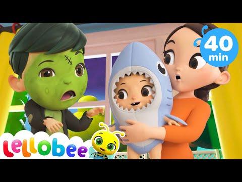 Baby Shark Dance - Halloween   Nursery Rhymes & Kids Songs - ABCs and 123s   Little Baby Bum