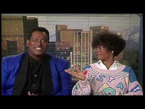 Luther Vandross and Dionne Warwick interview with Inside Entertainment