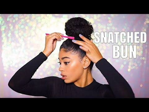 HOW TO SNATCH YOUR BUN! *in 5 minutes*   jasmeannn