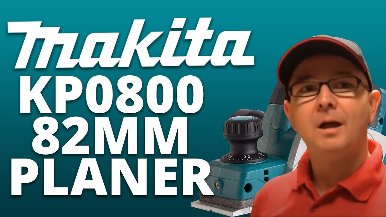 review of the makita kp0800 82mm planer (plus demo) - youtube