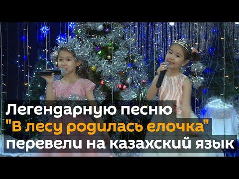 """Легендарную песню """"В лесу родилась елочка"""" перевели на казахский язык"""
