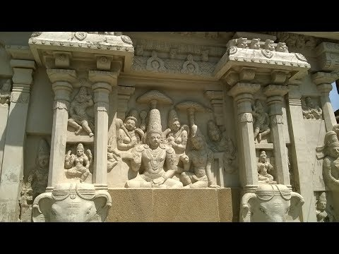 World's famous: Kanchi Kailasanathar Temple - Sculptures
