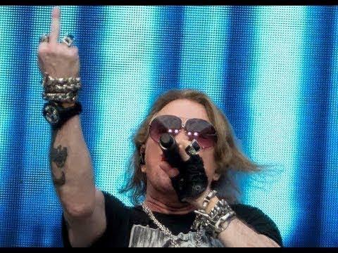 Guns N' Roses Live @ Tallinna Lauluväljak in Tallinn, Estonia (16/7/2018) FULL SHOW