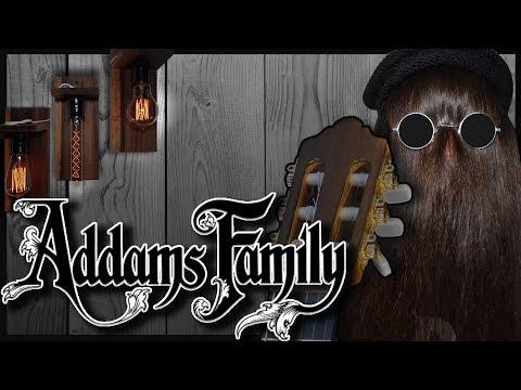 adams family sheet music
