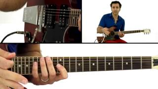 Dweezil Zappa Guitar Lesson - Economy Picking Pentatonics