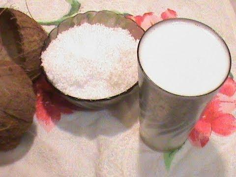 Кокосовое масло рецепт.